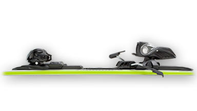 how to set downhill ski bindings