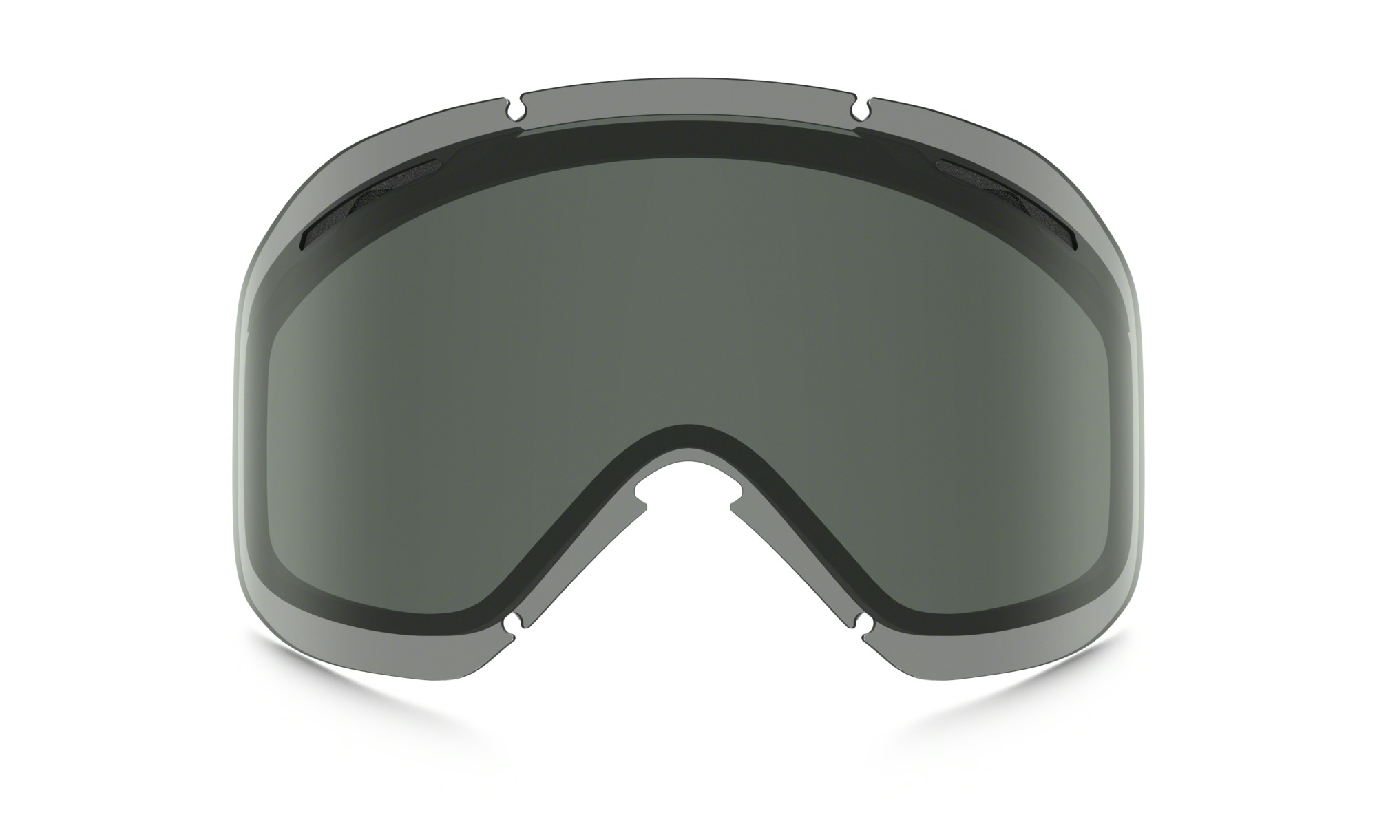 oakley goggle sunglasses  dark grey
