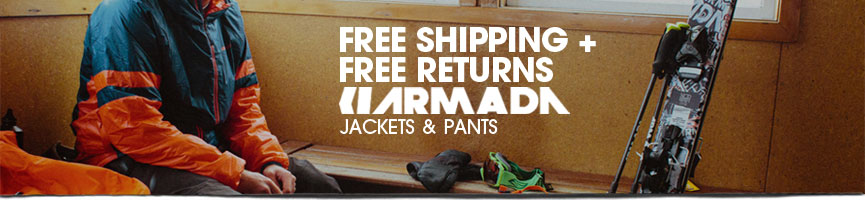 Armada Free Shipping and Free Returns!