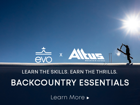 evo x Altus Backcountry Essentials Course