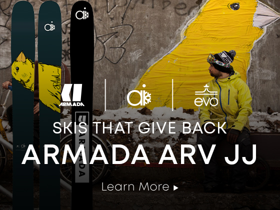 Armada x Alpine Initiatives. Skis that give back.