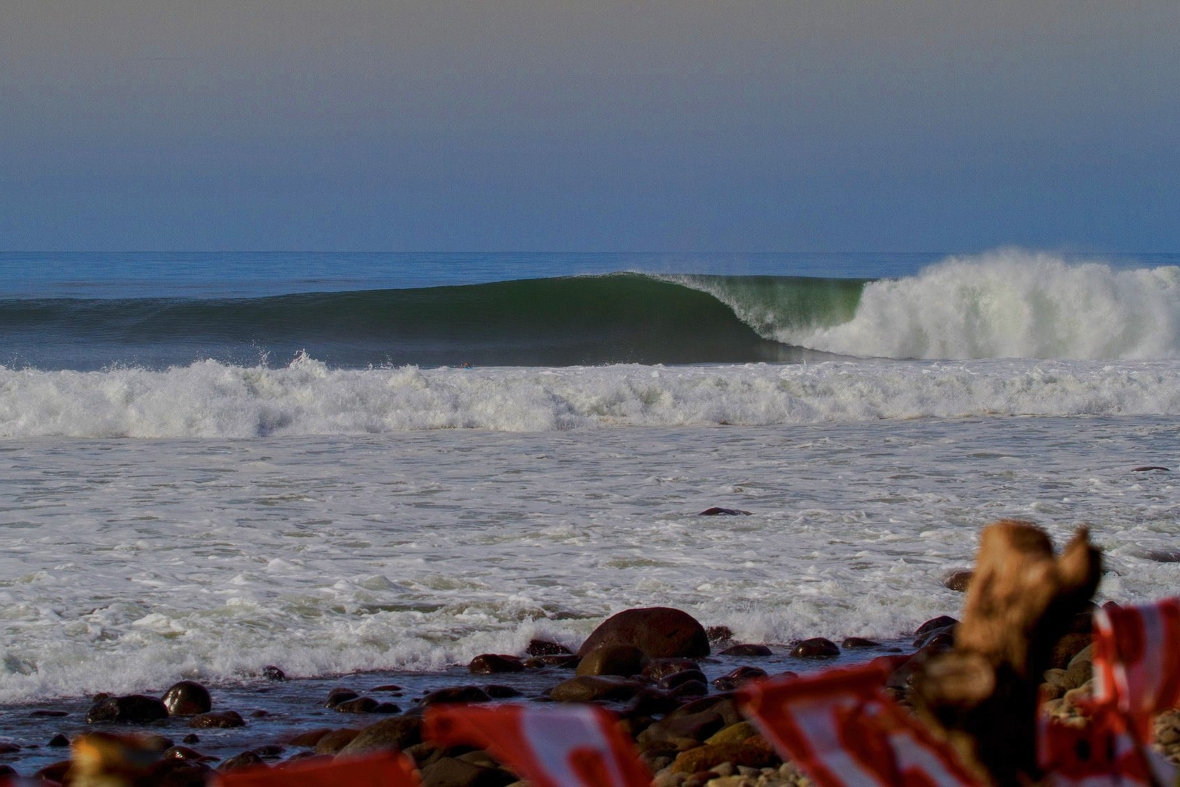Punta Roca - a surf mecca. Photo by Billy Watts.