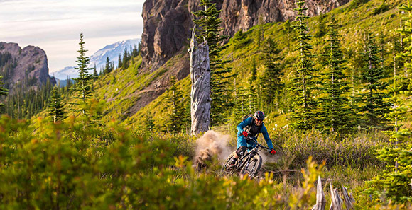 Mount Adams Mountain Bike Trails
