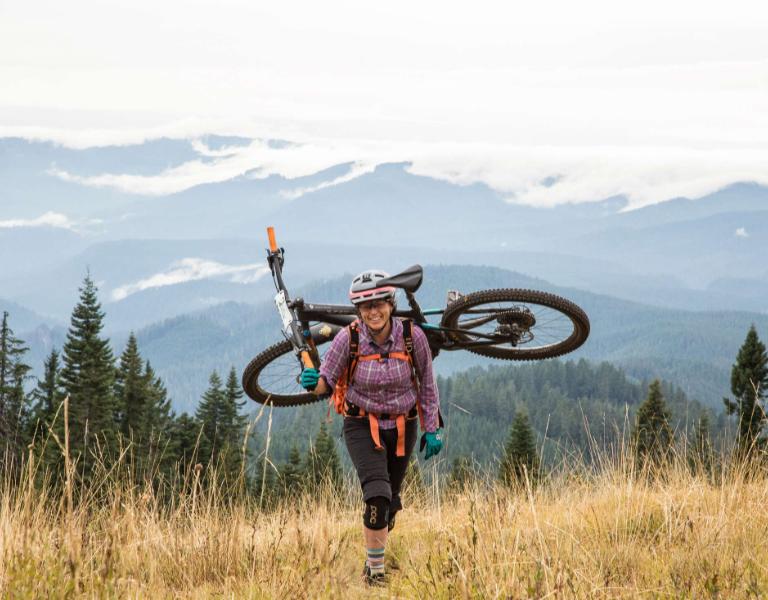 Oregon Women S Mountain Bike Yoga Retreat Evo