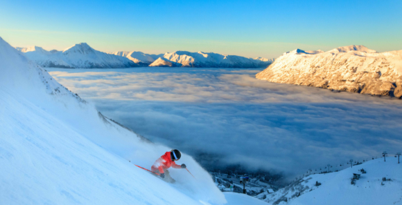 Skiing & Riding at Alyeska