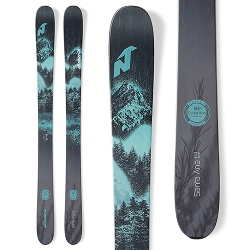 The best 2020-2021 womens all mountain skis