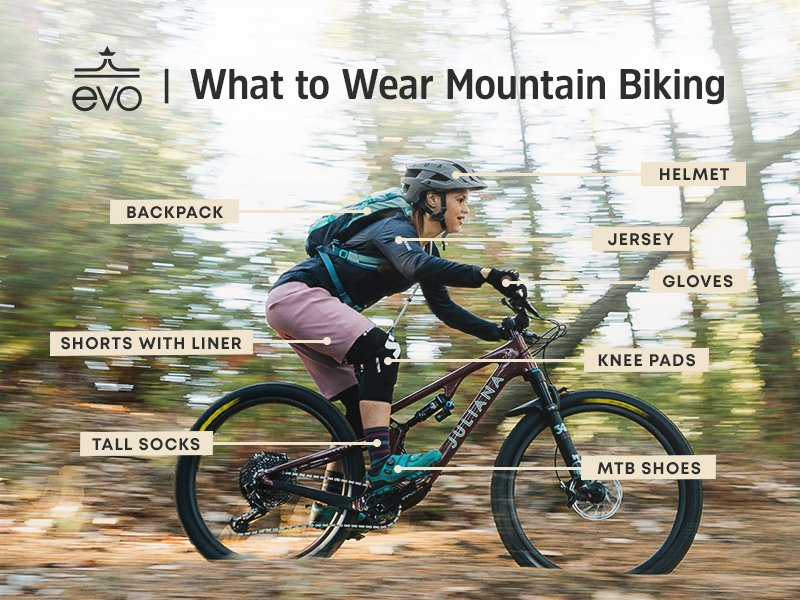 What to wear mountain biking?