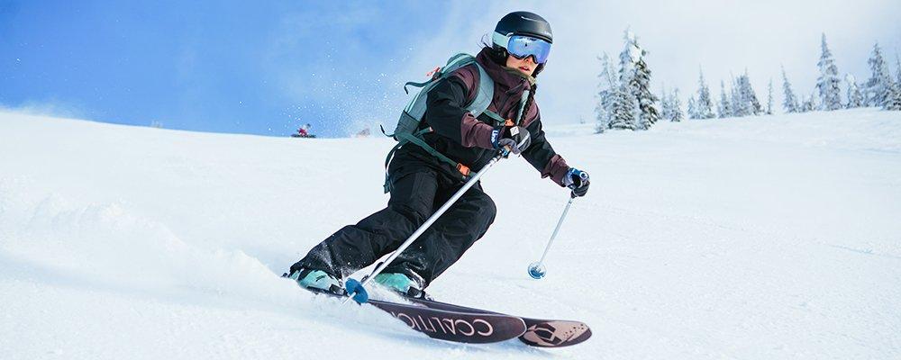 How to ski - ski technique for beginner skiers