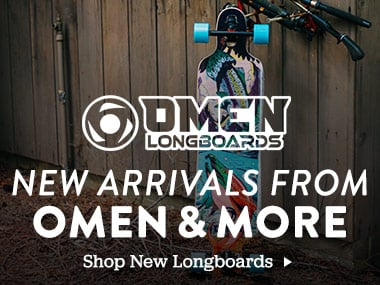New Arrivals From Omen and More. Shop New Longboards.