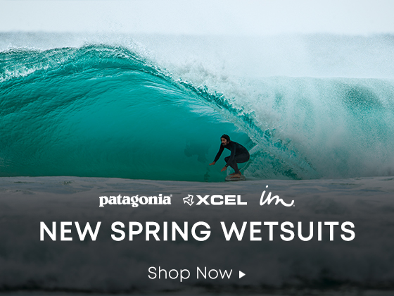 Patagonia, Xcel, Imperial Motion. New Spring Wetsuits. Shop Now