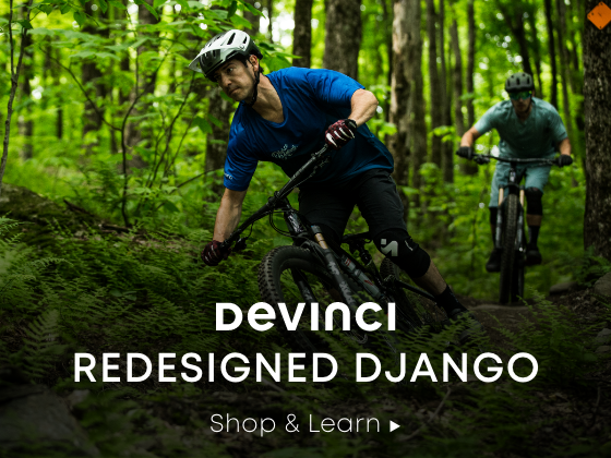 Devinci. Redesigned Django. Shop and Learn.