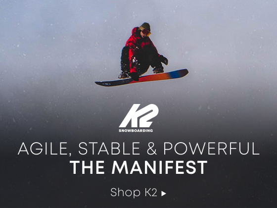Agile, Stable, and Powerful. The MANIFEST. Shop K2.