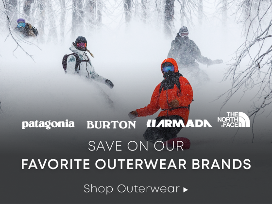 Save on our favorite outerwear brands. Shop Outerwear.