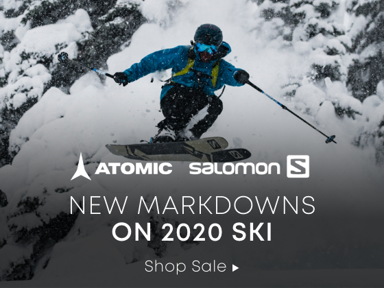 Salomon. Atomic. New Markdowns on 2020 Ski