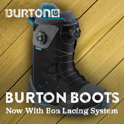 Burton Boots. Now With Boa Lacing System.
