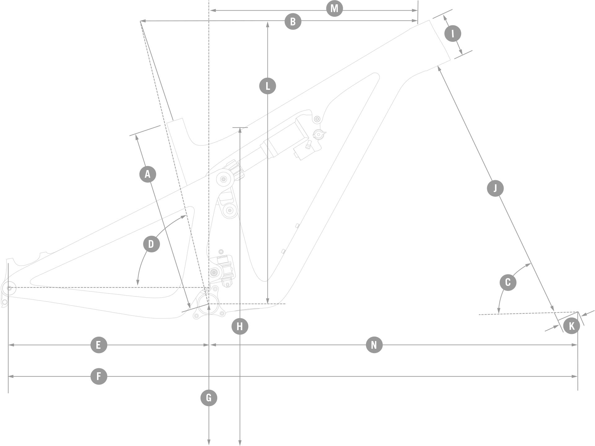 Yeti Bikes Size Chart