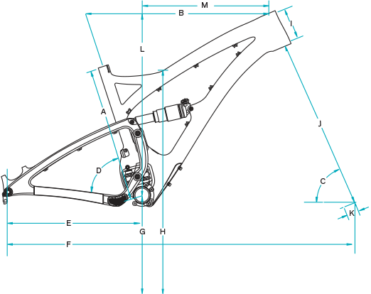 Yeti Bikes Size Chart - 2015