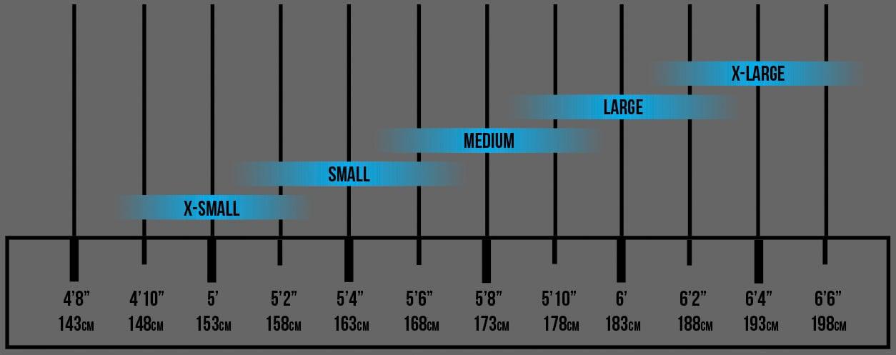 Transition Bikes Size Chart