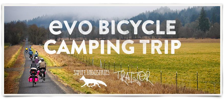 evo Bicycle Camping Trip