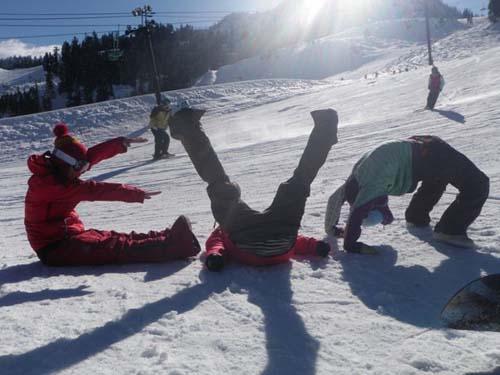 evo - fun in the snow