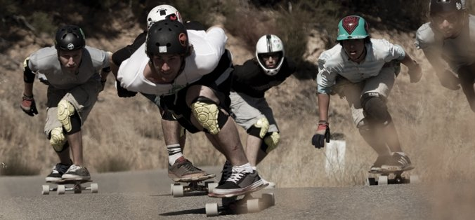 how to ride a penny board downhill
