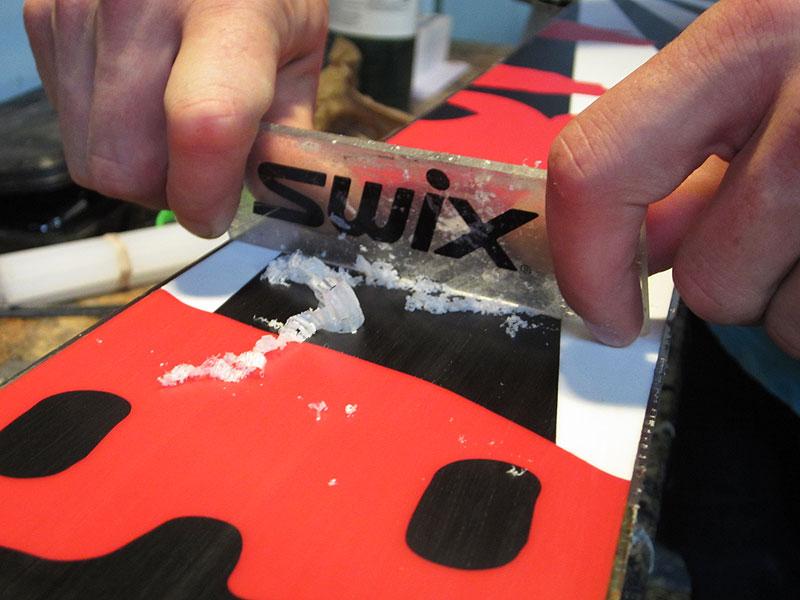scrape_wax