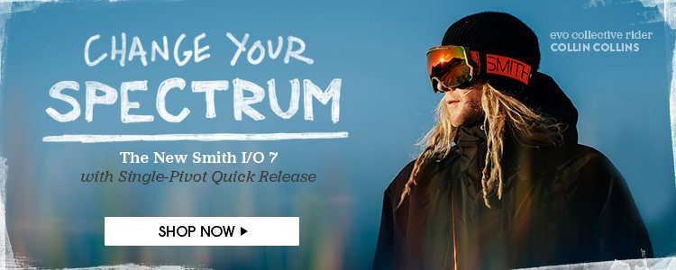 Change Your Spectrum - The New Smith I/O 7 with Single-Pivot Quick Release