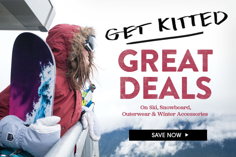 Get Kitted. Great Deals In Outlet.