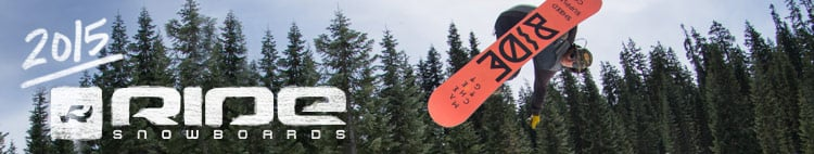 2015 Ride Snowboard Gear is Here and Ready For You!