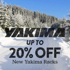 Up To 20% Off New Yakima. Shop Now.