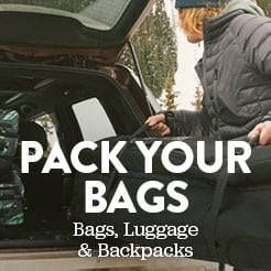 Pack Your Bags. Bags, Luggage and Backpacks. Shop Now.