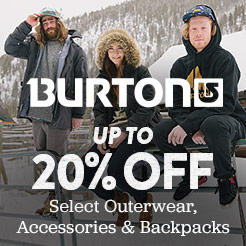 Burton on Sale. Shop Now.