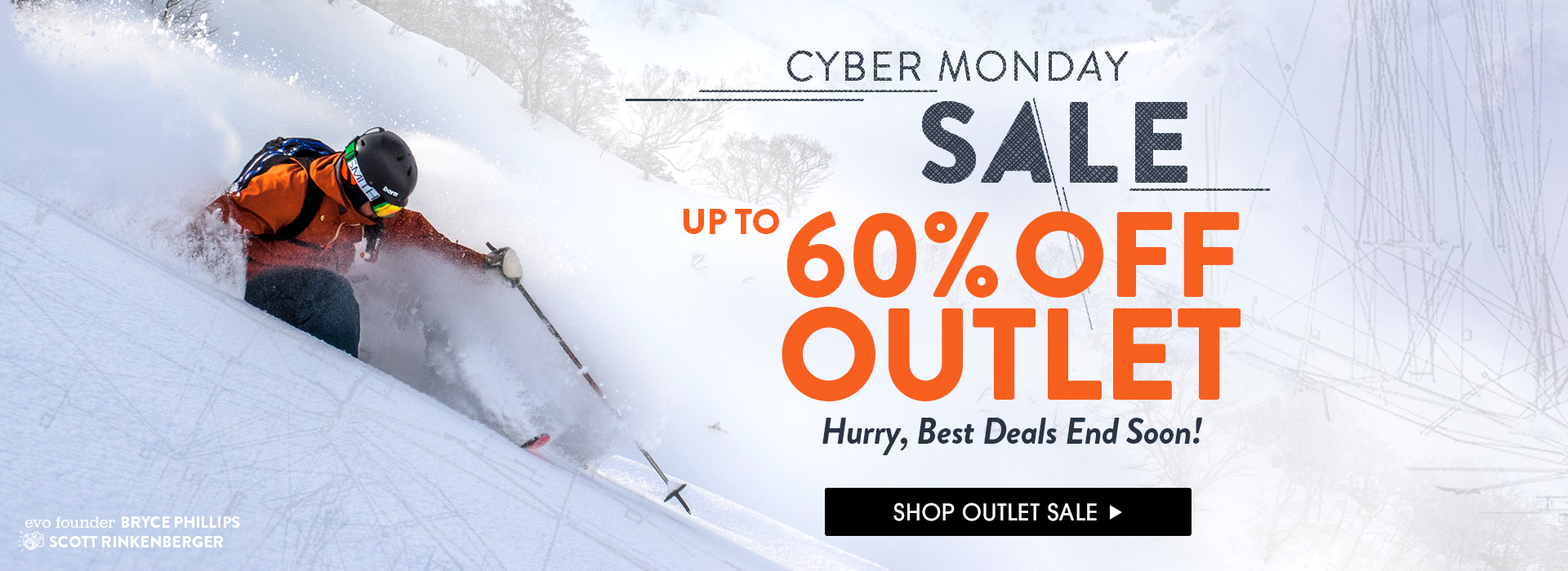Cyber Monday. Up to 60% Off. Shop Now!