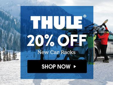 Up to 20% Off Thule Racks. Shop Now.