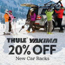 Up To 20% Off New Thule and Yakima Car Racks. Shop Now.