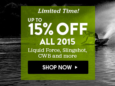 Up to 15% Off 2015 Wake. Shop Now.