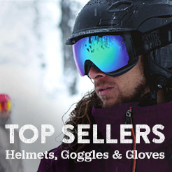 Top Sellers - Helmets, Goggles and Gloves