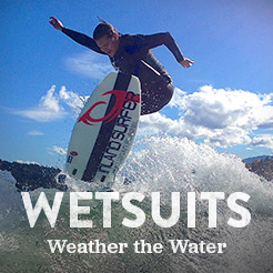 Wetsuits to Weather the Water