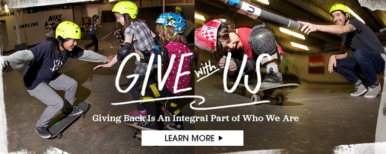 Give With Us - Giving Back Is An Integral Part of Who We Are