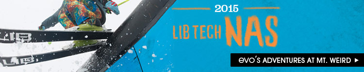2014 Lib Tech NAS are Here!