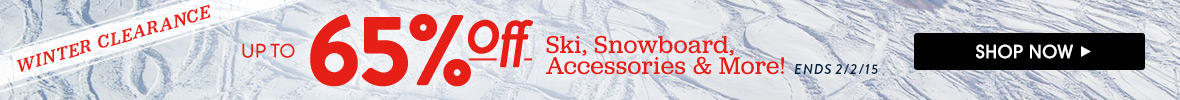 Winter Clearance. Up to 65% Off Ski, Snowboard, Accessories and More! Shop Now.