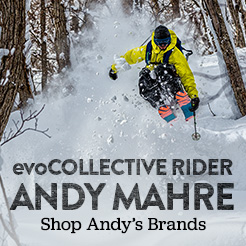 evoCollective's Andy Mahre. Shop Andy's Brands, K2 and More.