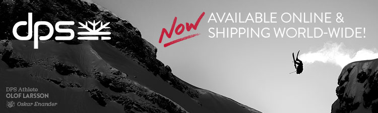 Now Available Online and Shipping World-wide. DPS Skis.