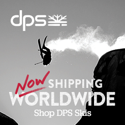 Now Shipping World-Wide. DPS Skis.