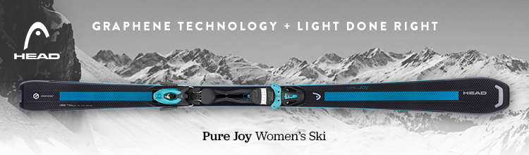 Light Done Right. Head Skis.