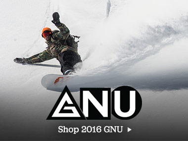GNU: Asymmetry is the Rider's Choice. Shop 2016 GNU.