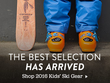 The Best Selection Has Arrived. Shop 2016 Kids' Ski Gear.