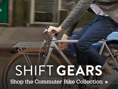 Shift Gears - Shop the Commuter Bike Collection.