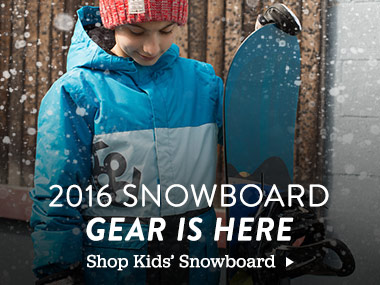 2016 Snowboard Gear Is Here. Shop Kids' Snowboard.