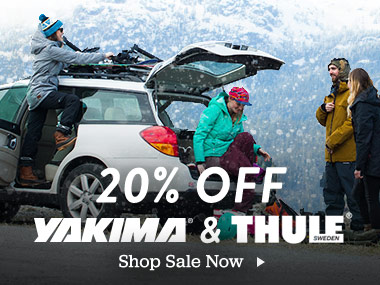 20% Off Yakima and Thule. Shop Sale Now.